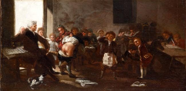 La_letra_con_sangre_entra Francisco Goya